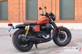 Prueba Moto Guzzi V9 Bobber Sport 31