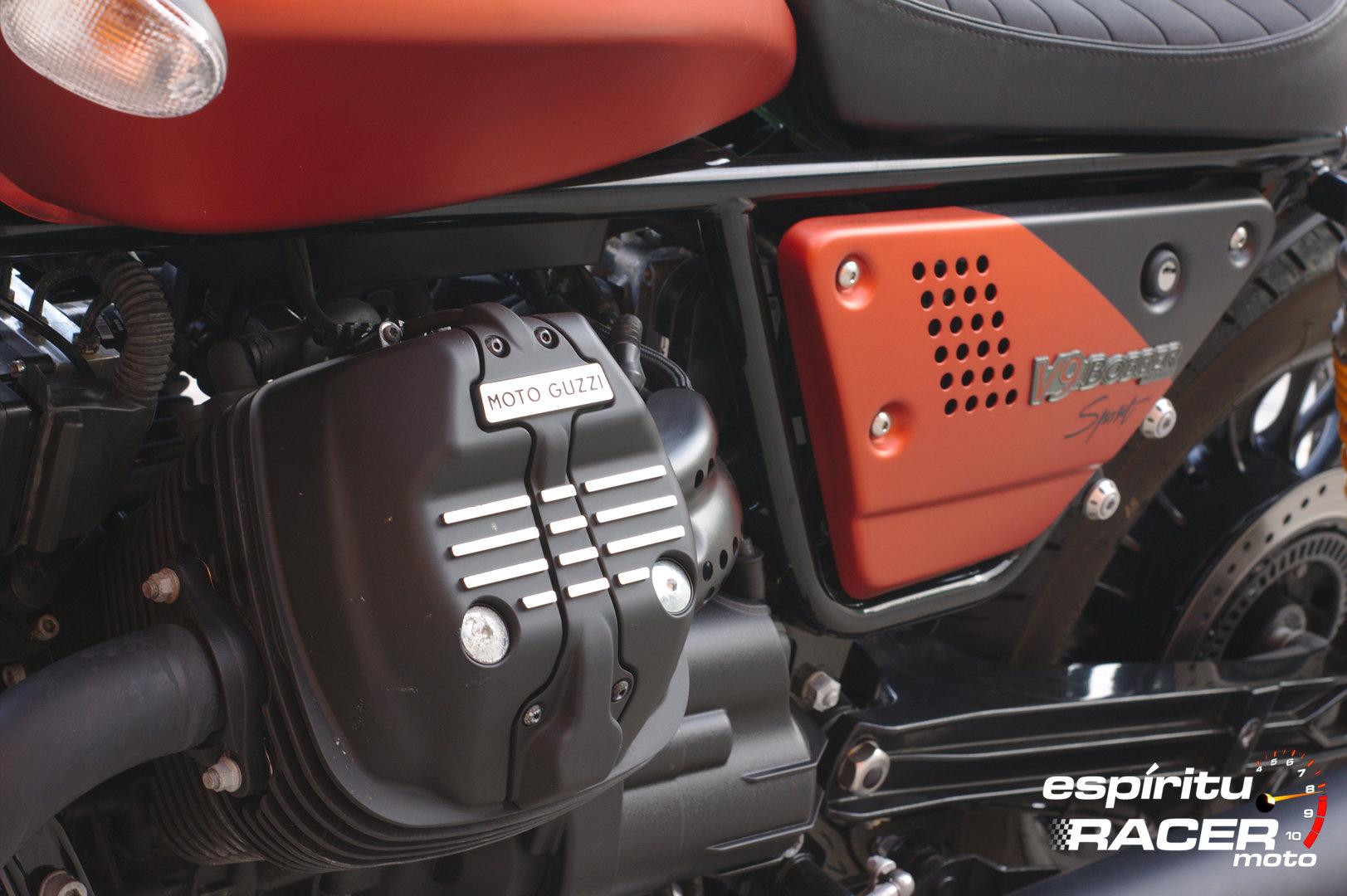 Prueba Moto Guzzi V9 Bobber Sport 59