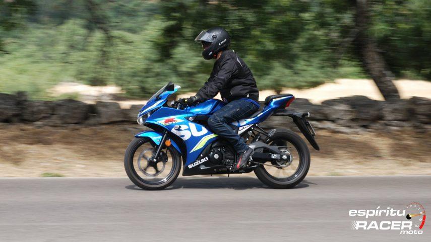 Prueba: Suzuki GSX-R125Z