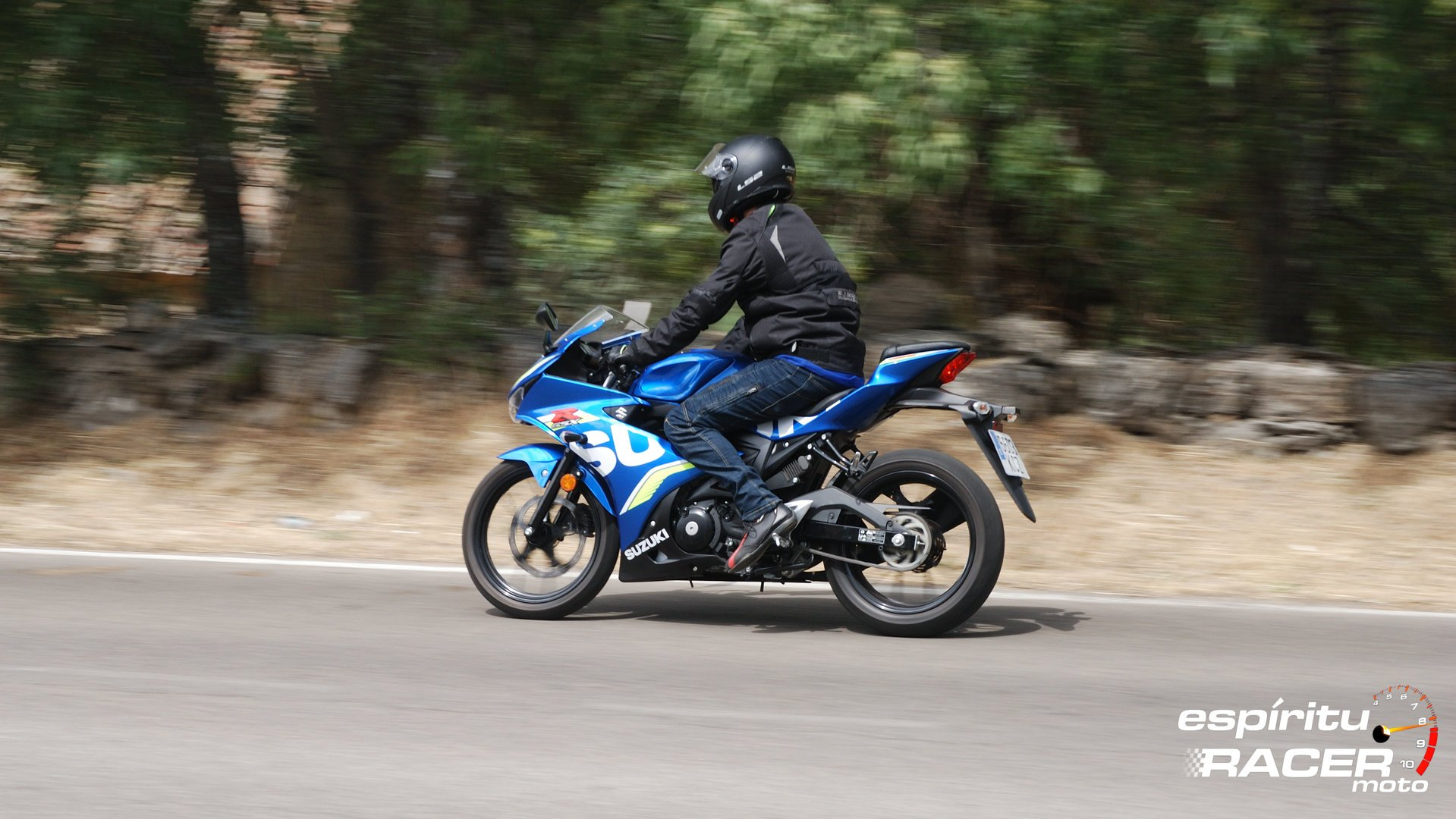 Prueba Suzuki GSX R125Z 06
