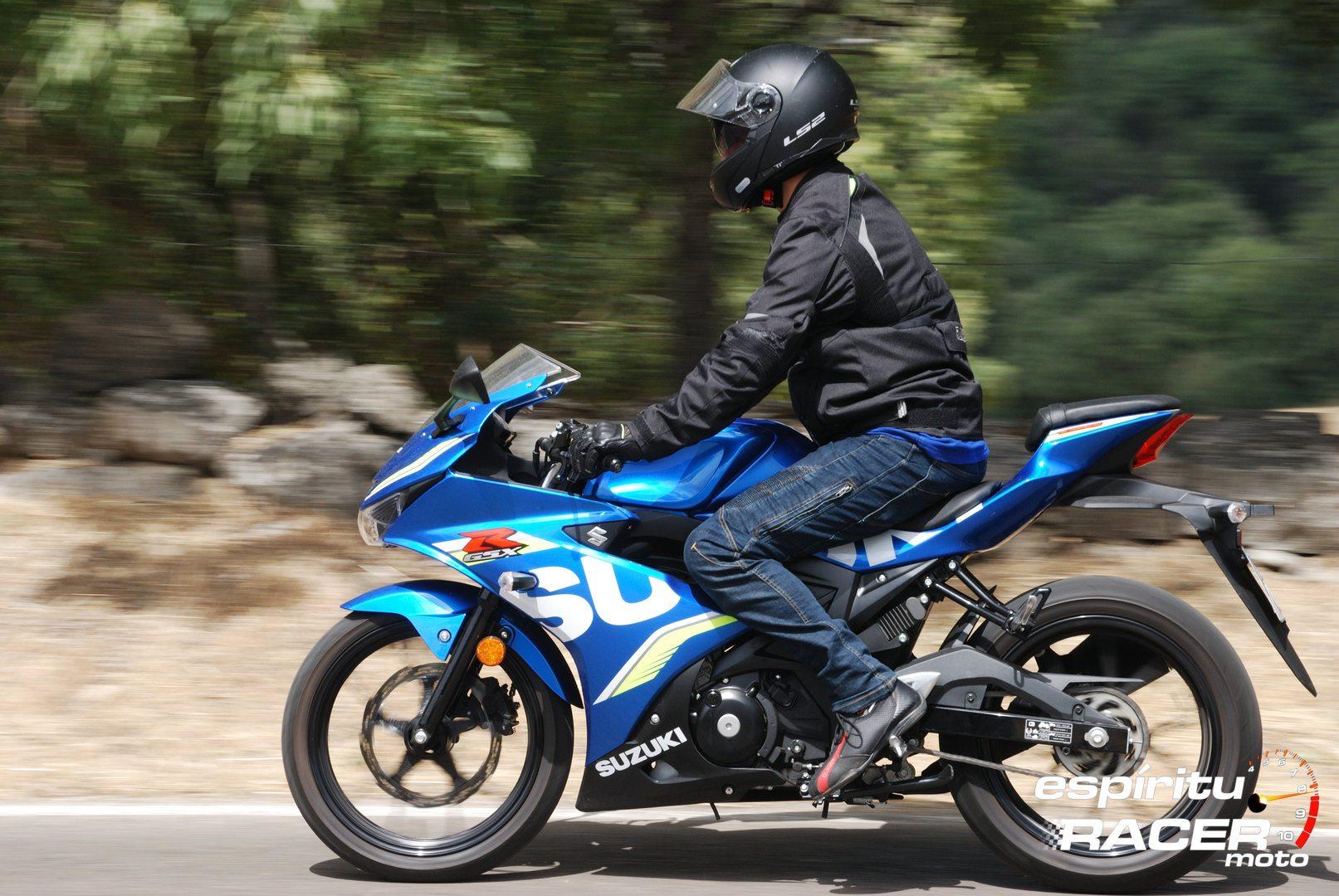 Prueba Suzuki GSX R125Z 07