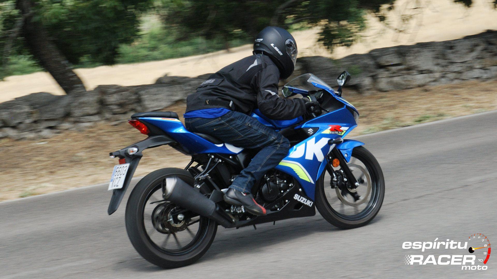 Prueba Suzuki GSX R125Z 12