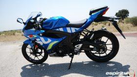 Prueba Suzuki GSX R125Z 13