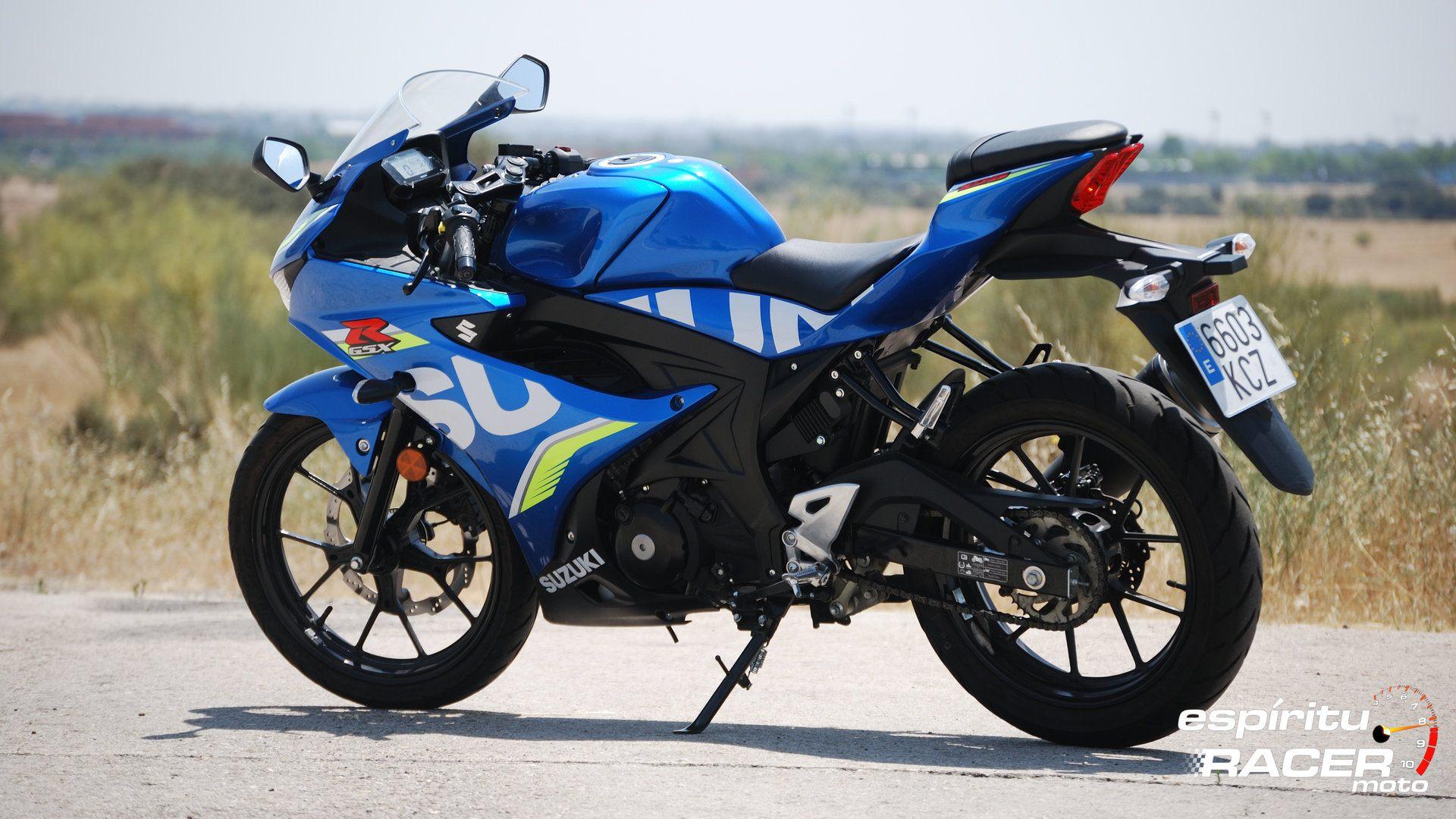 Prueba Suzuki GSX R125Z 14
