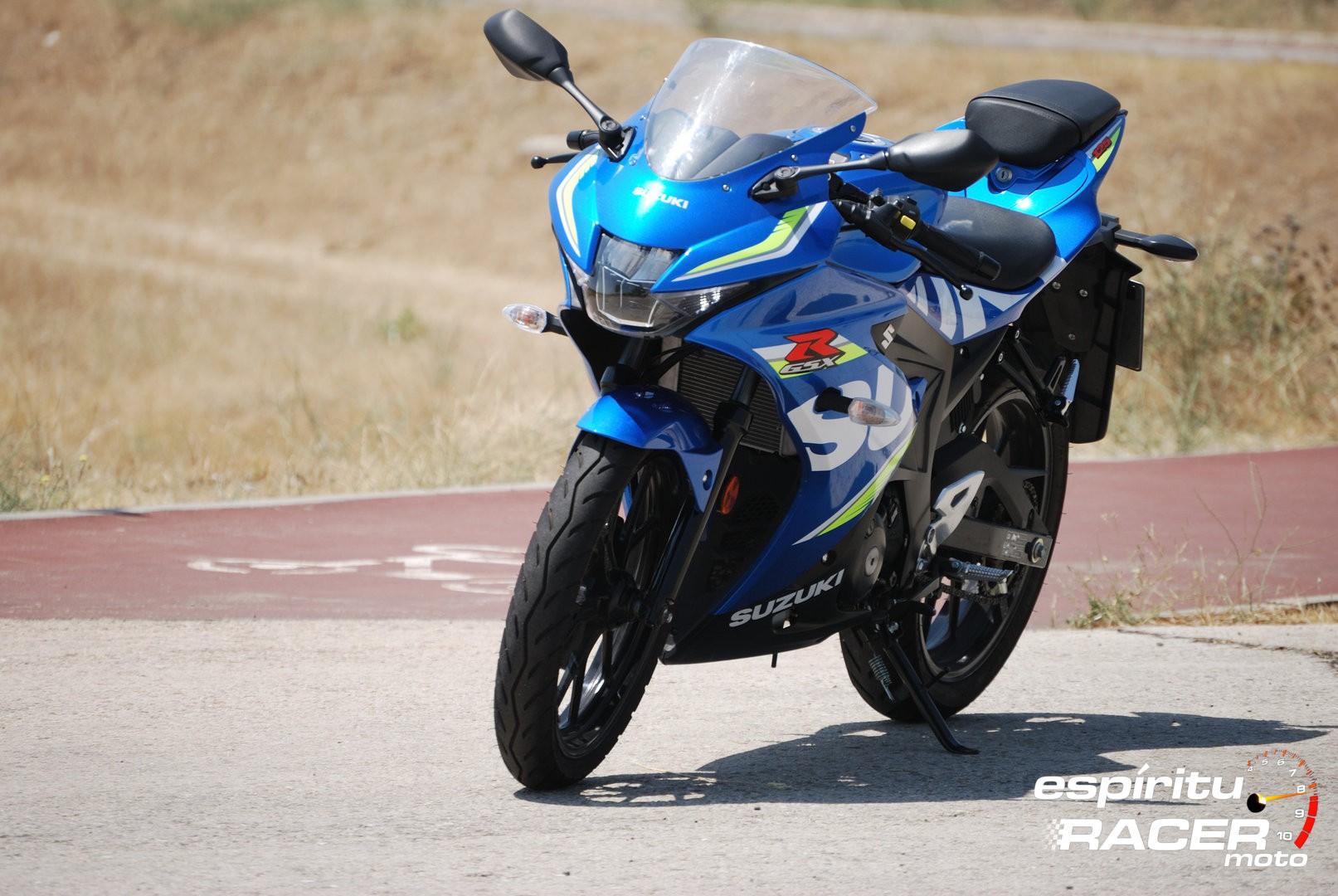 Prueba Suzuki GSX R125Z 15