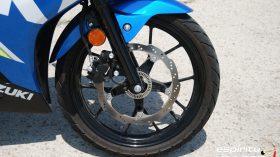 Prueba Suzuki GSX R125Z 19