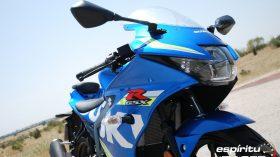 Prueba Suzuki GSX R125Z 20