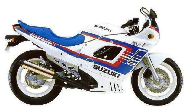 suzuki gsx 600 f 1990 3