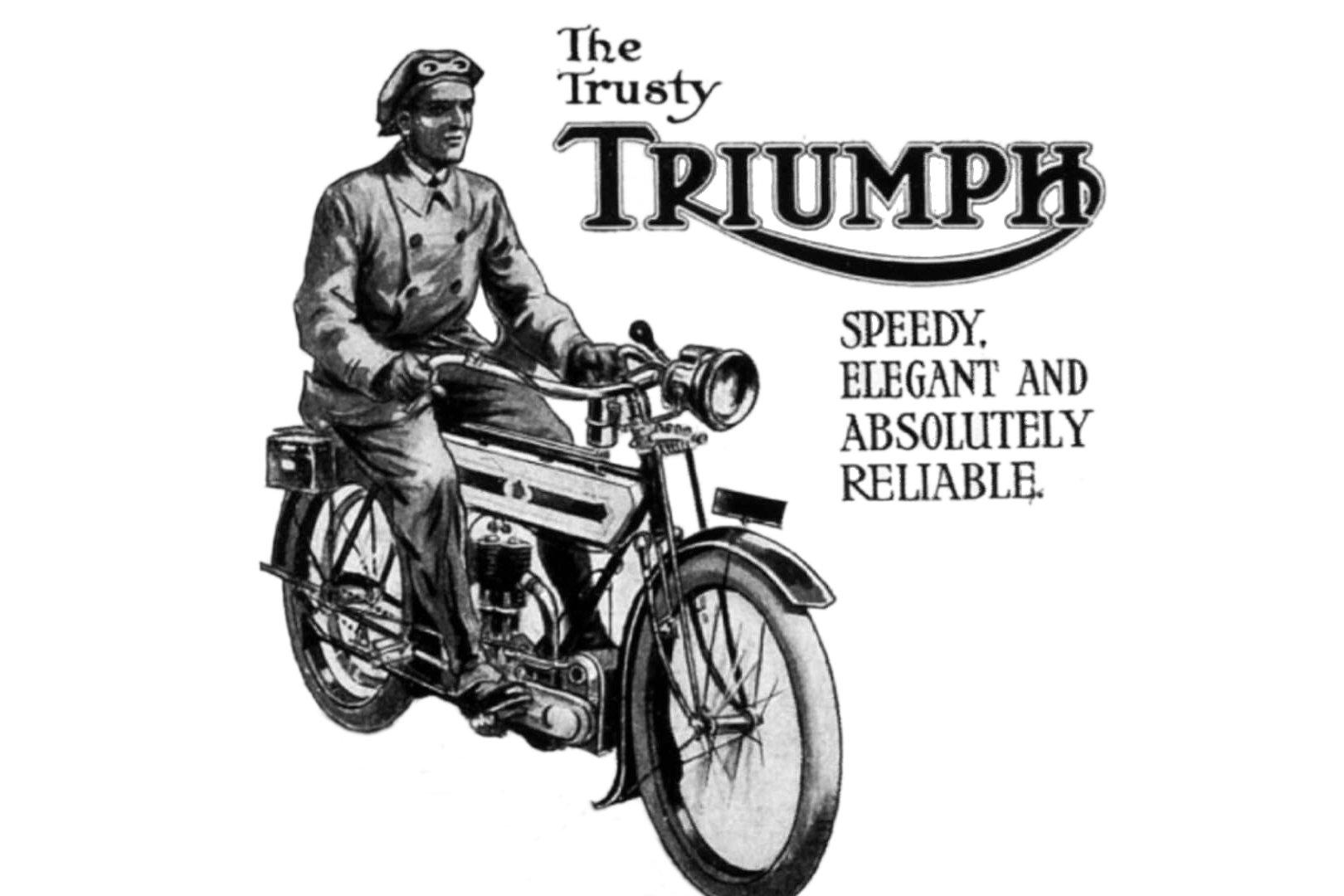 """Moto del día: Triumph Model H """"Trusty"""""""