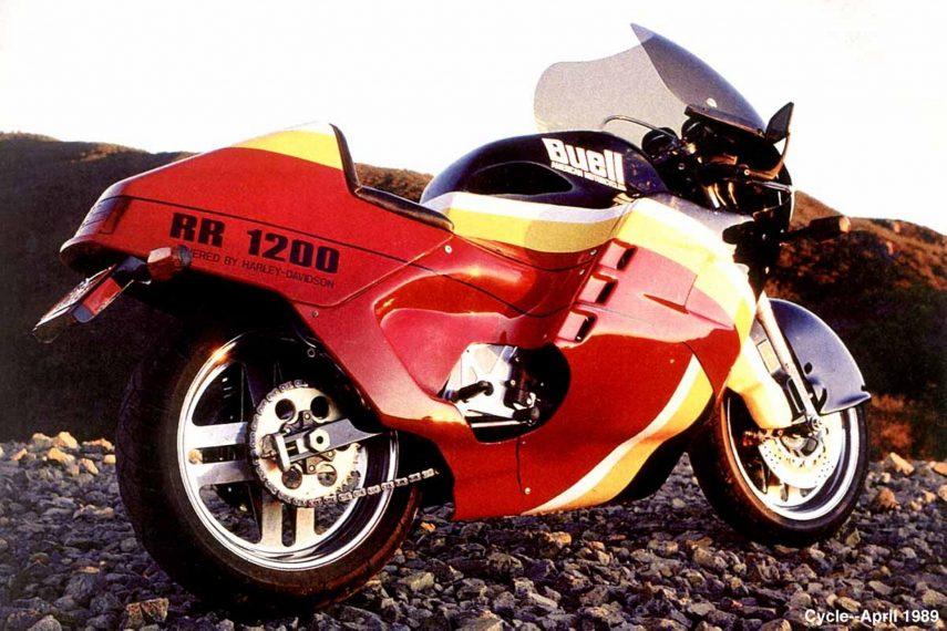 Moto del día: Buell RR 1200 Battletwin