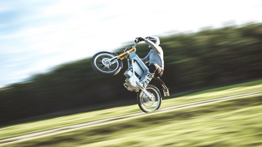 CAKE Kalk &, una nueva moto de campo eléctrica desde Suecia