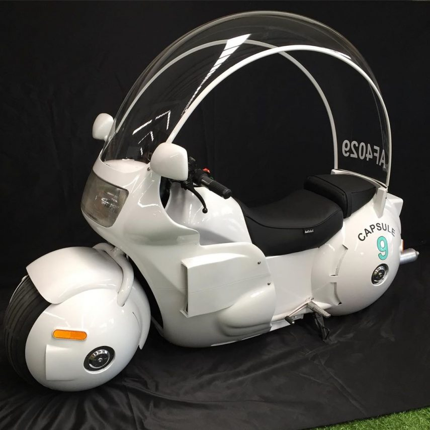 Capsule Nº 9, la moto de Bulma hecha realidad