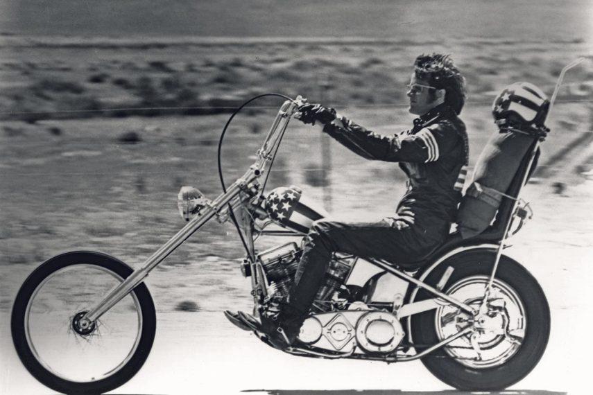 Moto del día: Harley-Davidson «Captain America»