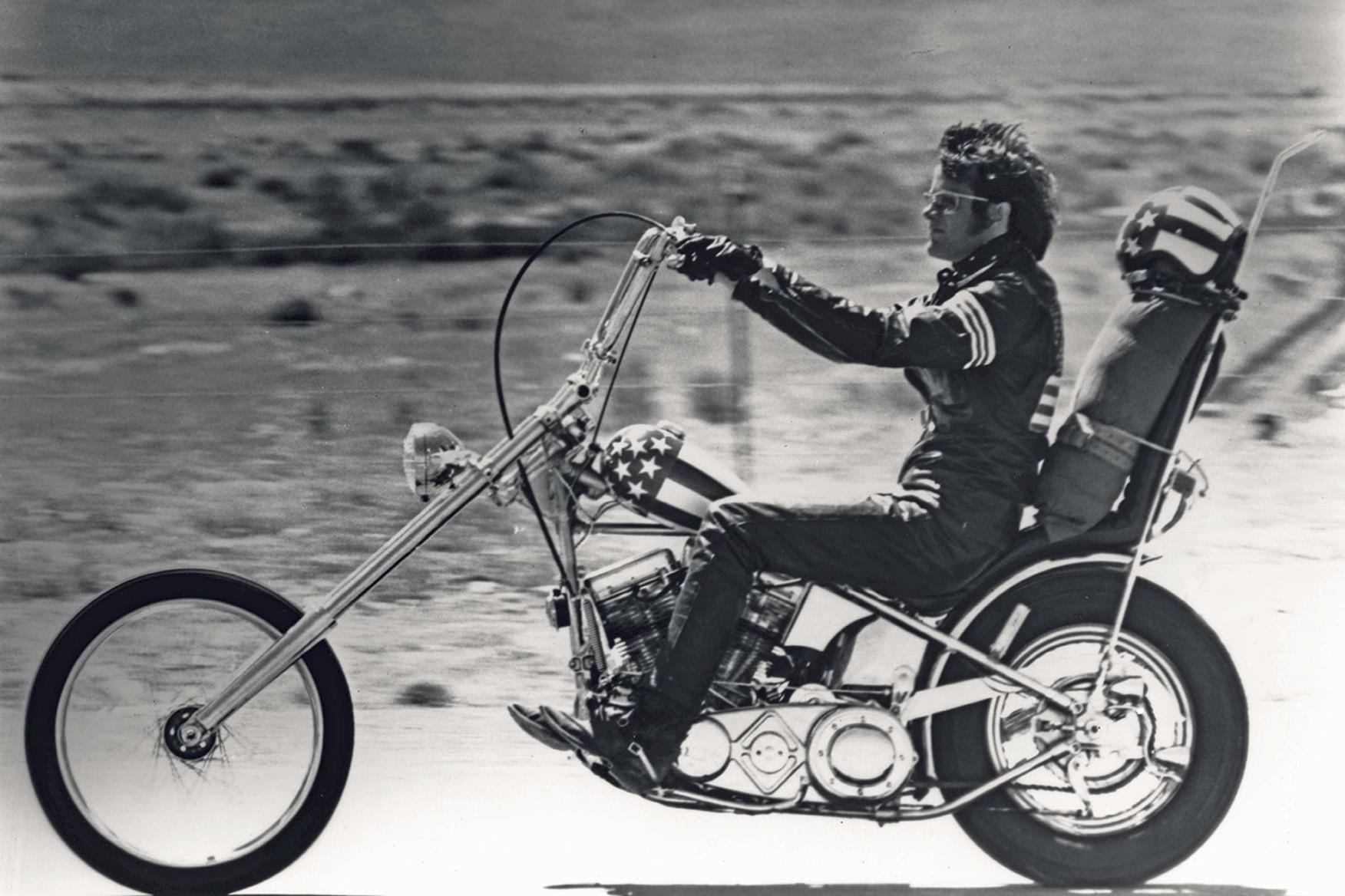 """Moto del día: Harley-Davidson """"Captain America"""""""