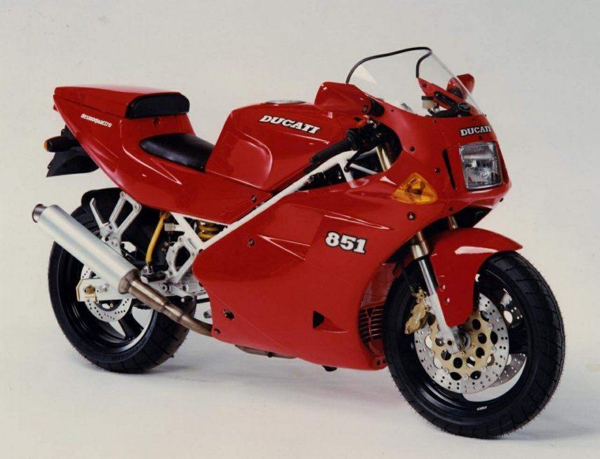 Moto del día: Ducati 851