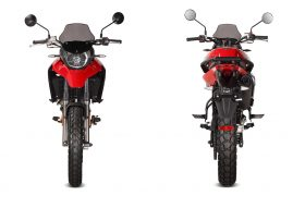 DUNE125 RED 1 FRONT REAR