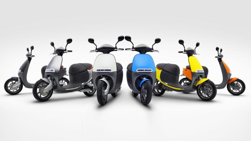 Moto del día: Gogoro Smartscooter