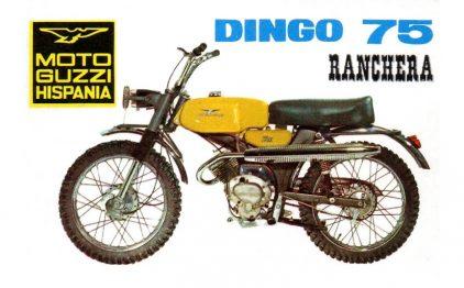 Moto Guzzi Hispania Dingo 75 Ranchera