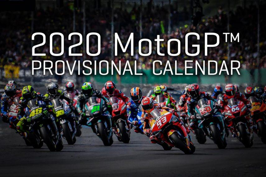 Calendario MotoGP 2020: el año que viene podrían disputarse 20 carreras