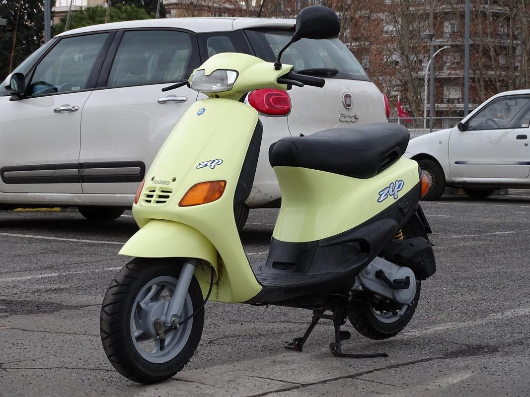 Moto del día: Piaggio Zip 50 2T