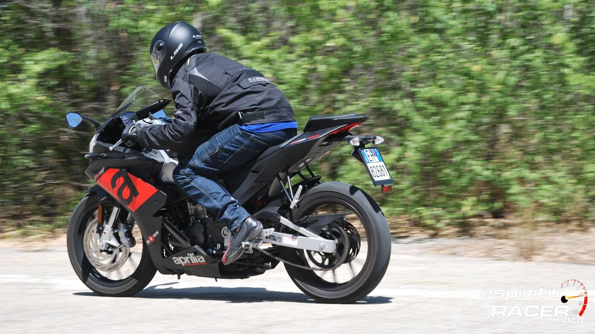 Prueba Aprilia RS 125 35