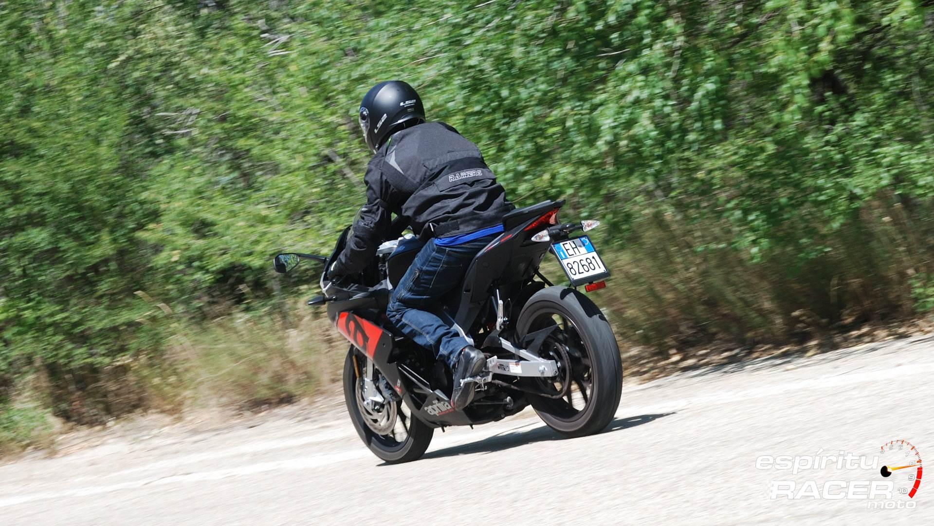 Prueba Aprilia RS 125 36