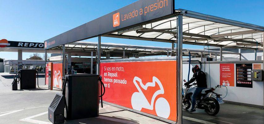 Repsol MotoStop: gasolineras pensadas por y para la moto