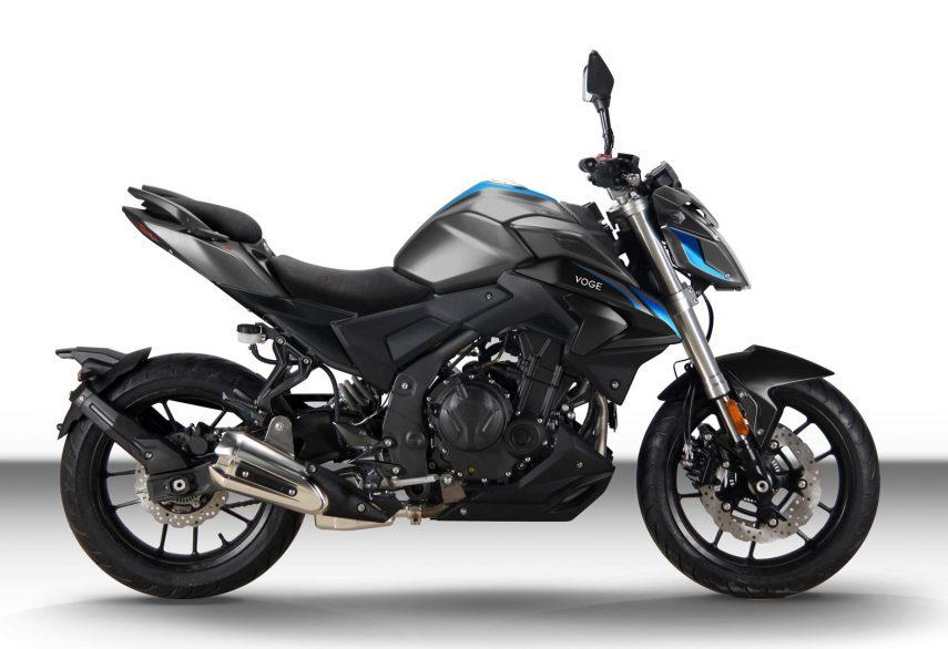 Loncin lanza en España las motos VOGE, su nueva marca premium
