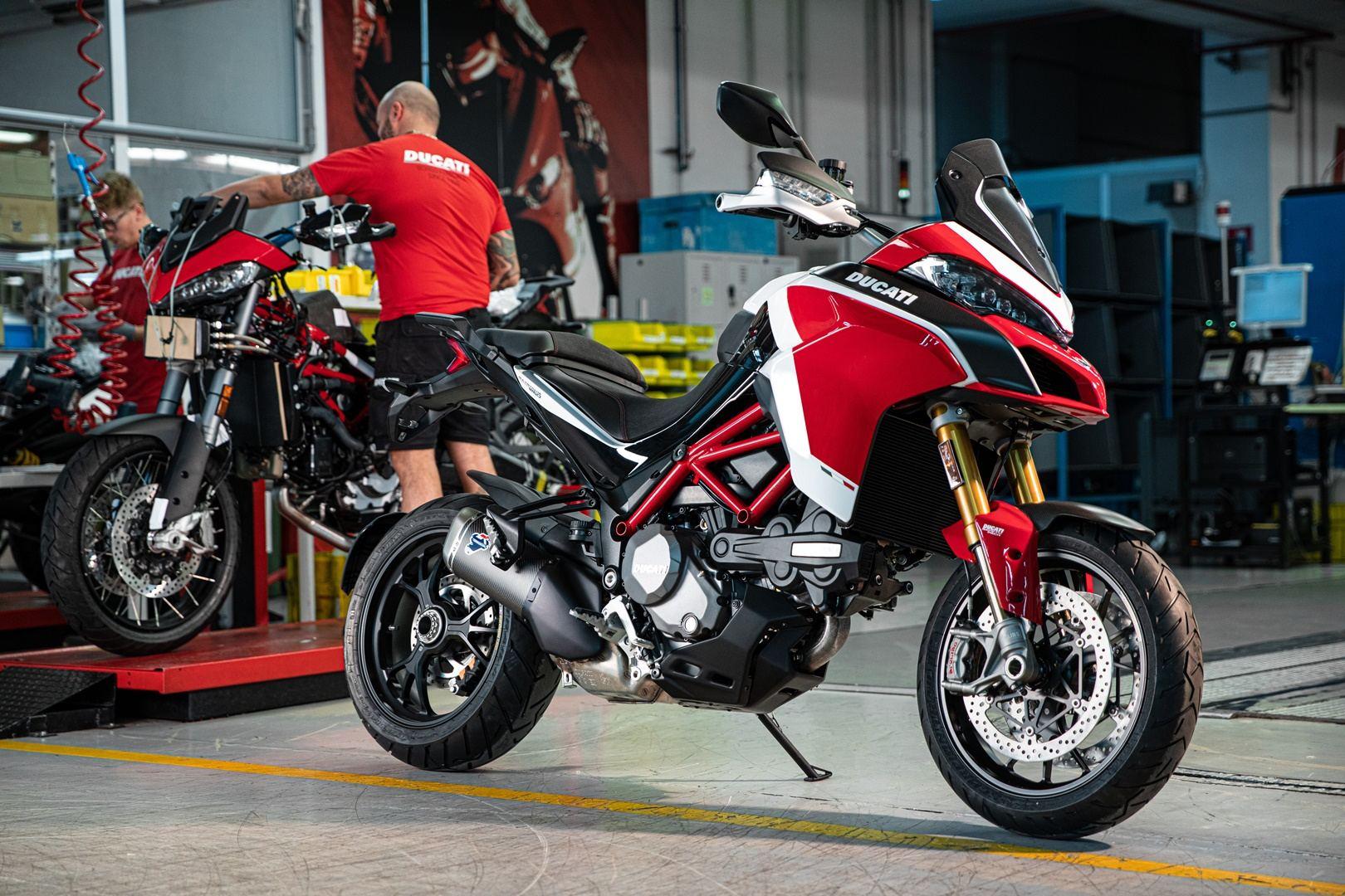 La nueva Ducati Multistrada V4 llegará en 2021