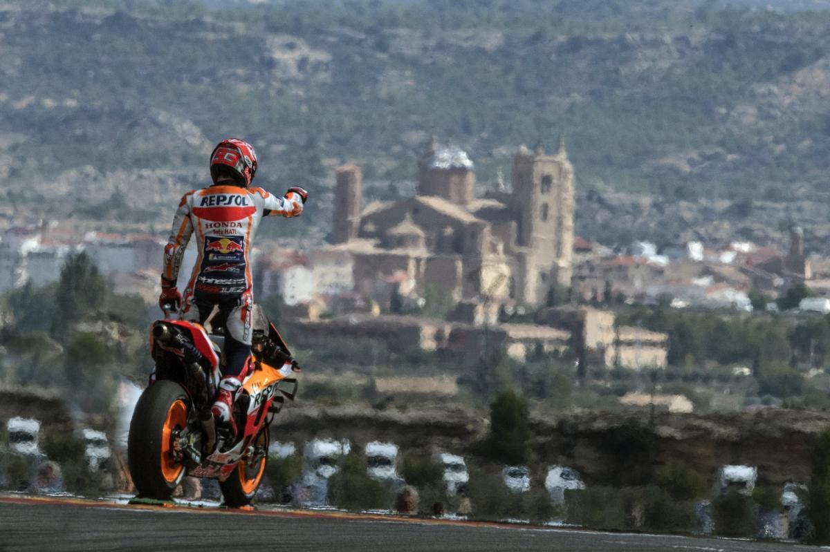 Victoria para Marc Márquez en el Gran Premio de Aragón 2019