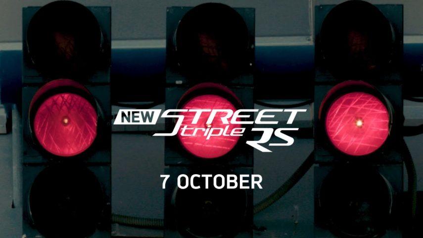 El 7 de octubre conoceremos la nueva Triumph Street Triple 2020
