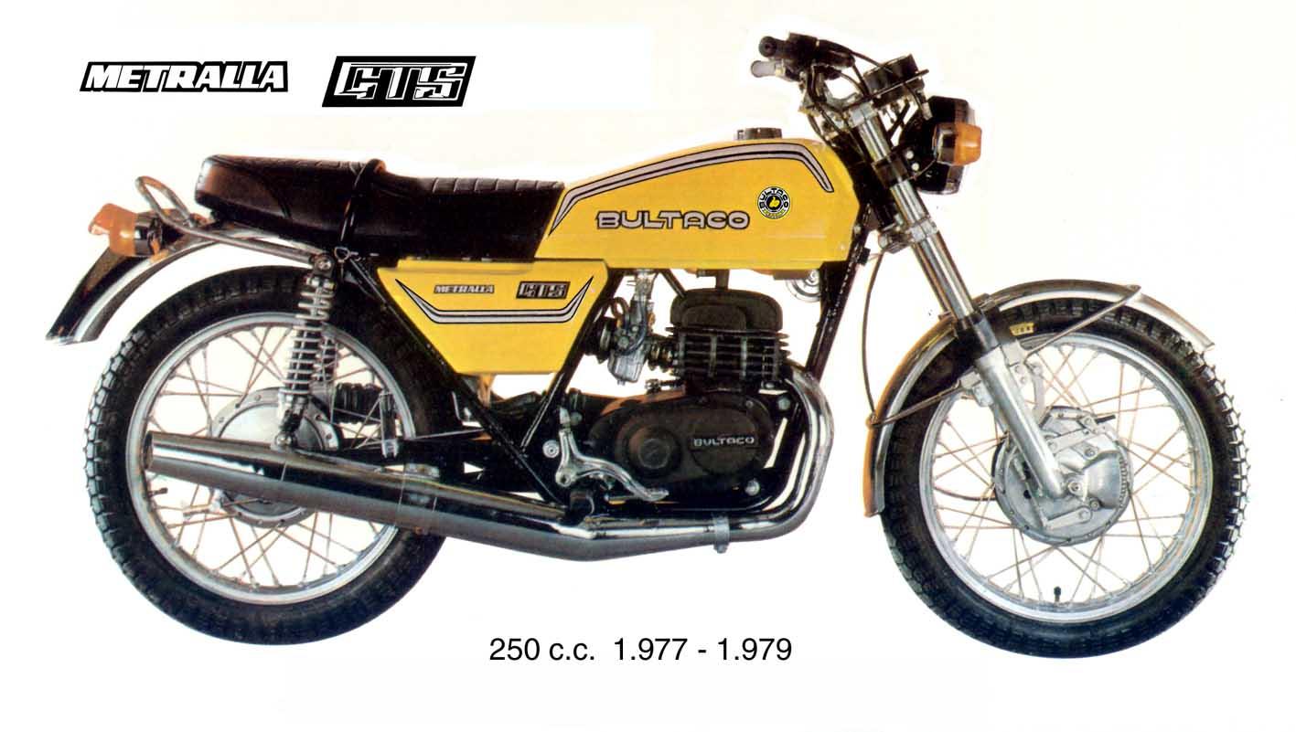 Moto del día: Bultaco Metralla GTS
