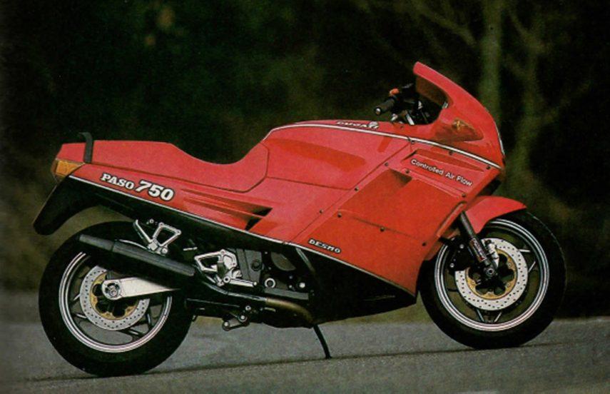 Moto del día: Ducati Paso 750