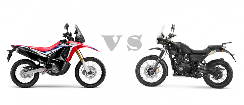 Comparativa: Royal Enfield Himalayan vs Honda CRF 250 Rally