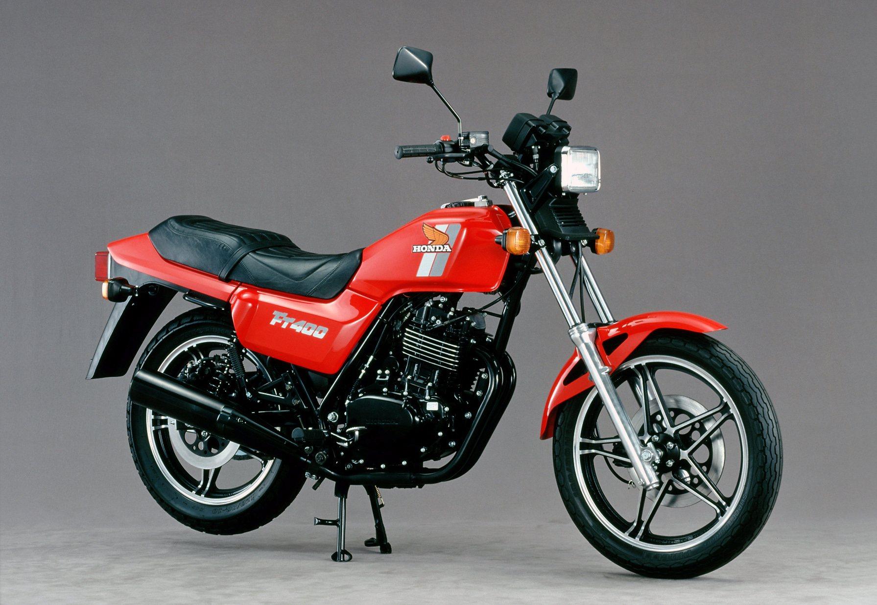 Moto del día: Honda FT 400