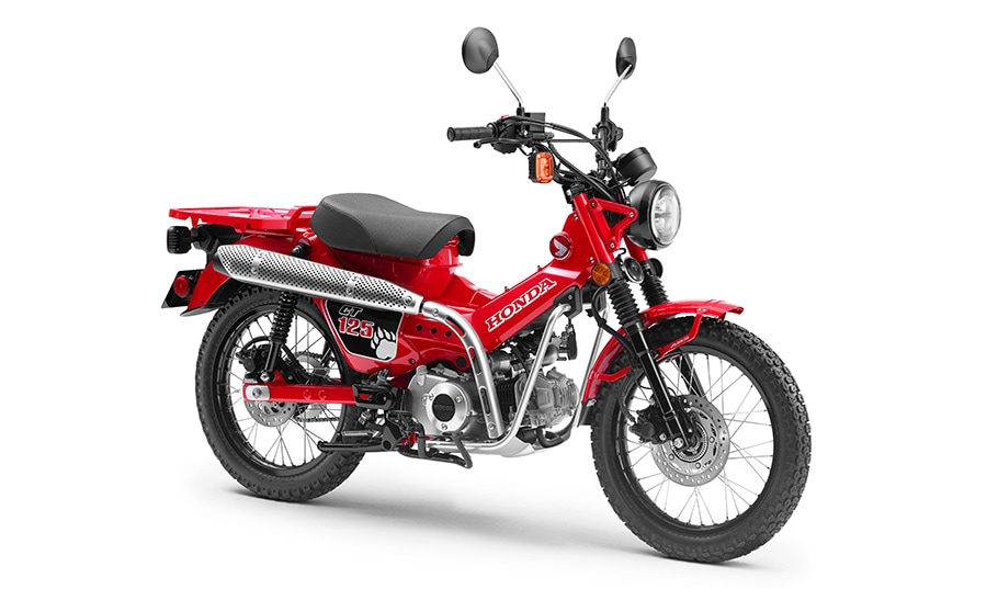 El Salón de Tokio nos traerá la nueva Honda CT 125