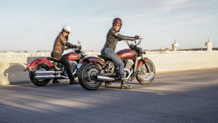 Indian Scout 100 Anniversary y Scout Bobber Twenty