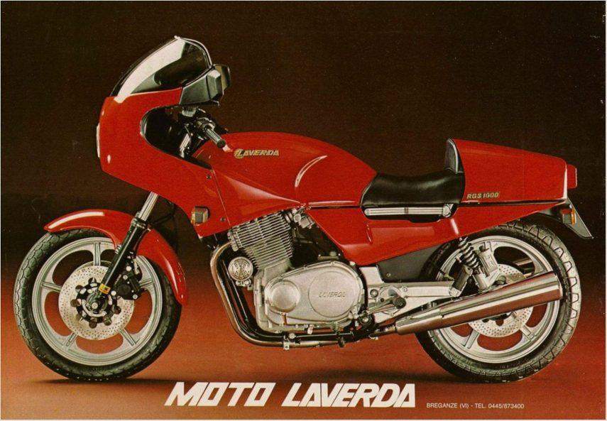 Moto del día: Laverda RGS 1000