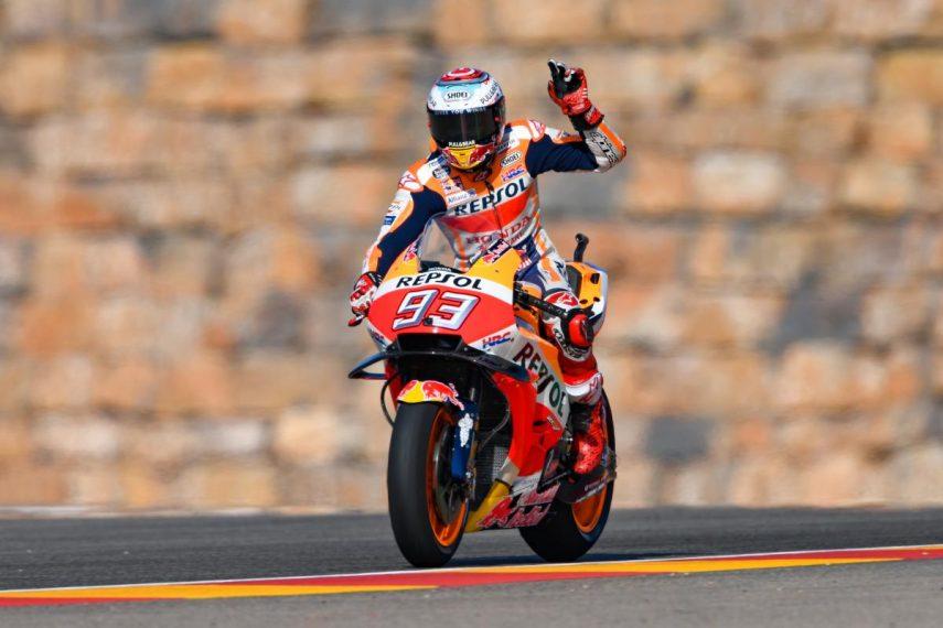 Horarios para el Gran Premio de Aragón de MotoGP 2019
