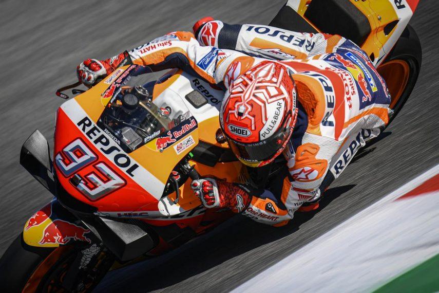 Marc Márquez gana la batalla del Gran Premio de San Marino 2019