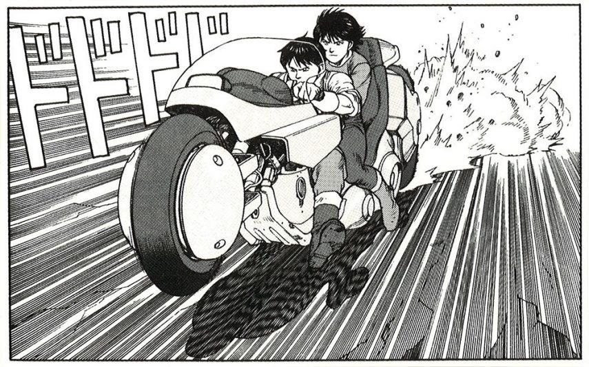Moto del día: la moto de Shotaro Kaneda en «Akira»