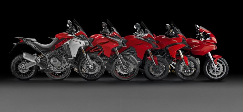 Multistrada Generations black background UC93591 High
