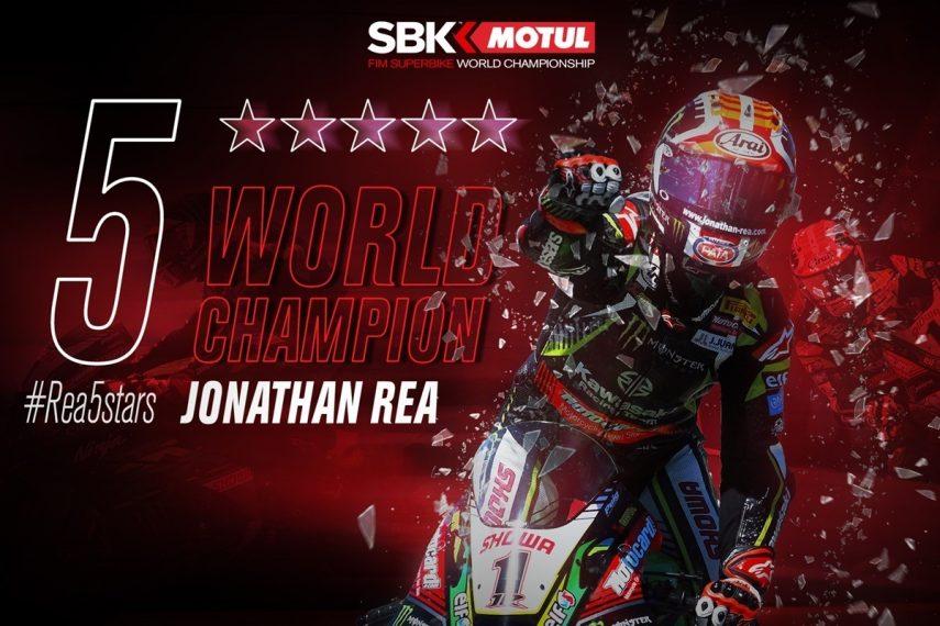 Jonathan Rea, Campeón del Mundo de Superbikes 2019