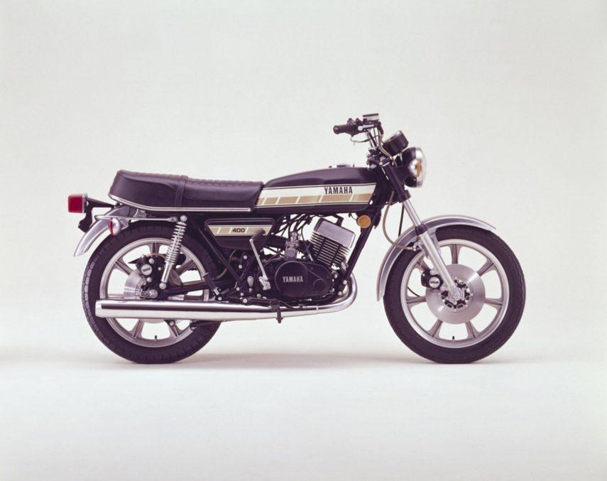 Moto del día: Yamaha RD 400