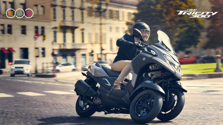 Yamaha Tricity 300: la firma de los diapasones apuesta por las tres ruedas