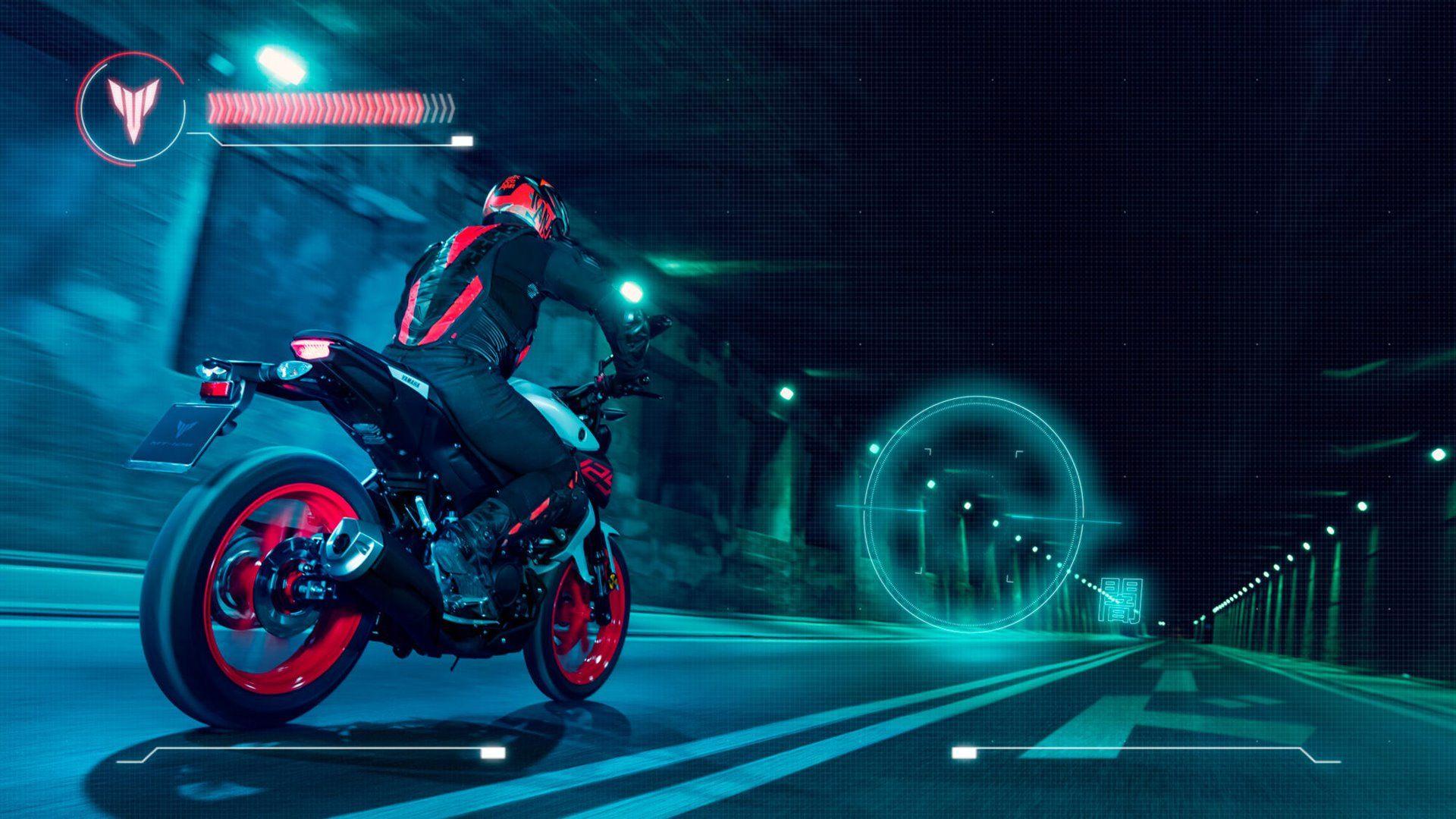 2020 Yamaha MT125 EU Ice Fluo Action 003 03