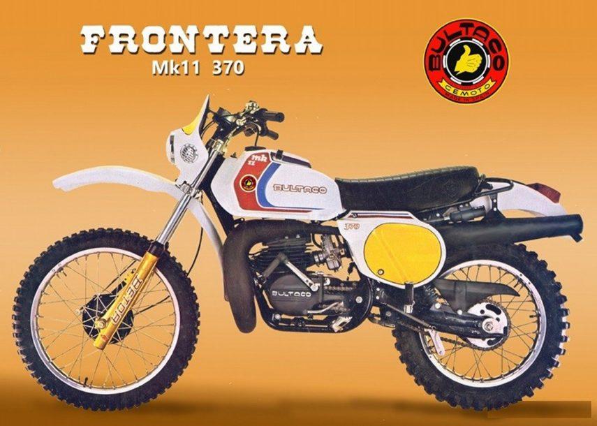 Moto del día: Bultaco Frontera