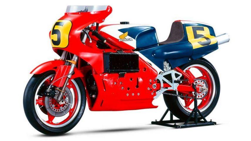 Honda NR500, innovadora y sorprendente, pero un fracaso