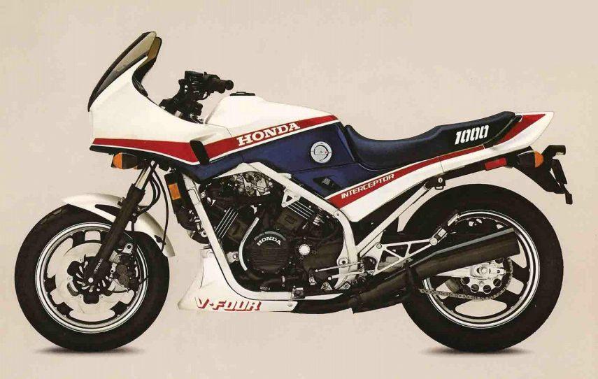 Moto del día: Honda VF 1000 F