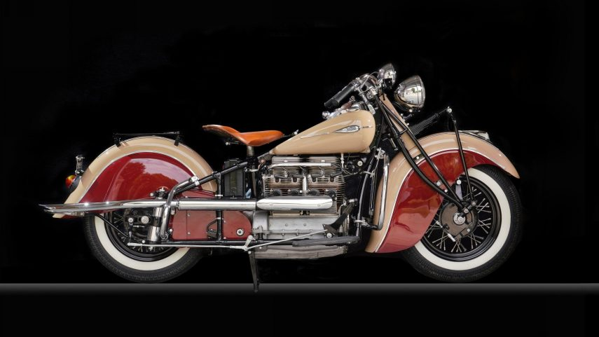 Moto del día: Indian Four